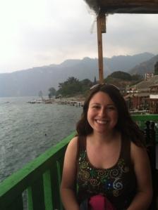 San Pedro on Lake Atitlán in the Western Highlands of Guatemala